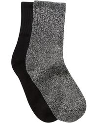 Hue - Shortie Cowgirl Boot Socks - Pack Of 2 - Lyst