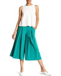 MILLY - Italian Cady Culotte Pants - Lyst
