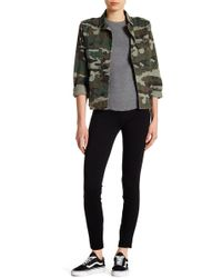 Tractr - Skinny Pull-on Ponte Pants - Lyst