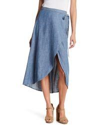 Level 99 - Kody Wrap Skirt - Lyst