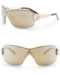 Guess - 00mm Shield Sunglasses - Lyst