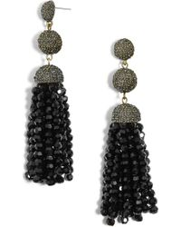 BaubleBar - Tinsley Beaded Tassel Drop Earrings - Lyst