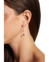 BCBGeneration - Crystal Detail Threader Earrings - Lyst