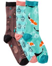 Socksmith - Patterned Socks - Pack Of 3 - Lyst