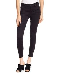 Level 99 - Janice Mid Rise Straight Leg Jeans - Lyst