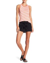 BB Dakota - Quinn Front Tie Shorts - Lyst