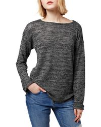 TOPSHOP - Space Dye Pullover Jumper - Lyst