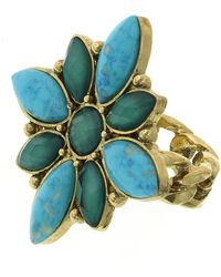 1928 - Marquise Stone Medallion Ring - Size 7 - Lyst