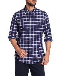 Brooks Brothers - Oxford Regent Checkered Print Regular Fit Shirt - Lyst