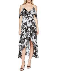 Bardot - Frankie Frill Floral Dress - Lyst