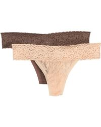 Felina - Lace Thong - Pack Of 2 - Lyst