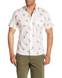 Ambsn - Palmero Short Sleeve Tailored Fit Shirt - Lyst