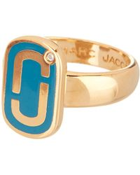 Marc Jacobs - Logo Ring - Lyst