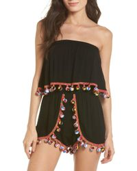 Surf Gypsy - Red Fruit Punch Cover-up Romper - Lyst