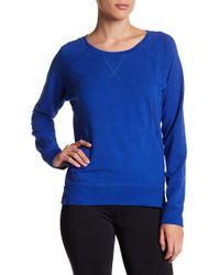 Zella - Luxe Sport Sweatshirt - Lyst