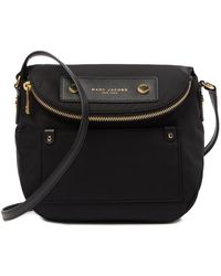 e485b97968 Marc Jacobs Quilted Nylon Messenger Crossbody in Black - Lyst