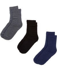 Hue - New Loafer Socks - Pack Of 3 - Lyst
