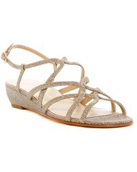Stuart Weitzman - Turning Down Slingback Sandal- Multiple Widths Available - Lyst