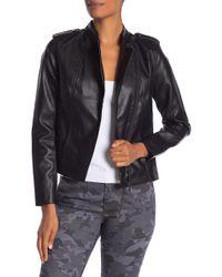Joe Fresh - Faux Leather Jacket - Lyst