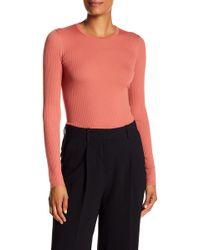 Theory - Mirzi Refine Ribbed Knit Sweater - Lyst