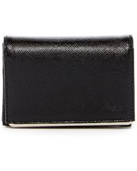 Halogen - Leather Bar Cardholder - Lyst