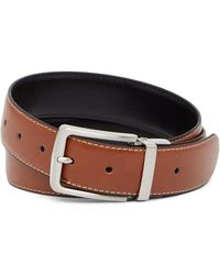 Andrew Marc - 33mm Reversible Casual Leather Belt - Lyst