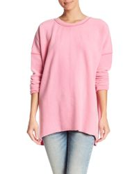 Free People - Washed Ashore Crew Neck Pullover - Lyst