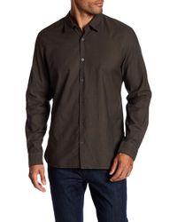 John Varvatos | Mayfield Long Sleeve Slim Fit Shirt | Lyst