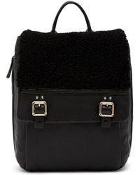 Vince Camuto - Delos Genuine Shearling/leather Backpack - Lyst