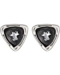 Uno De 50 - Twinkle Twinkle Little Star Swarovski Crystal Accented Stud Earrings - Lyst