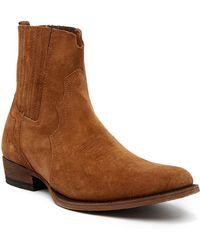 Frye - Austin Chelsea Suede Boot - Lyst