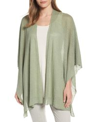 Eileen Fisher - Hemp Blend Serape - Lyst