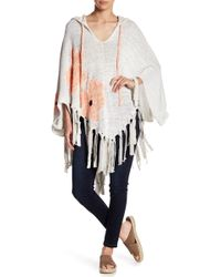 Free People - Dream Of Daisies Poncho - Lyst