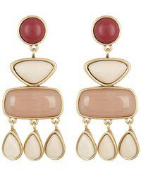 Lucky Brand - Stone Statement Dangle Earrings - Lyst