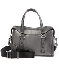 Marc Jacobs - Wellington Metallic Leather Satchel - Lyst