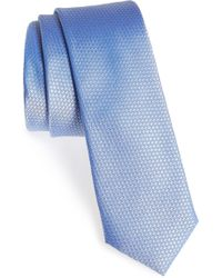 Calibrate - Seattle Textured Silk Tie - Lyst