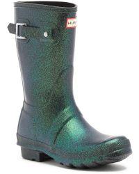HUNTER - Original Starcloud Waterproof Short Boot - Lyst