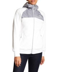 The North Face - Oso Mixed Media Hooded Jacket - Lyst