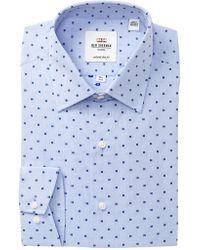 Ben Sherman - Clip Spot Florentine Tailored Slim Fit Dress Shirt - Lyst
