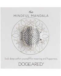 Dogeared | The Mindful Mandala Ring | Lyst