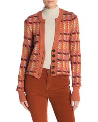 Free People - Retro Romance Cardi - Lyst