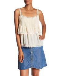 Love Stitch - Pleated Popover Tank Top - Lyst