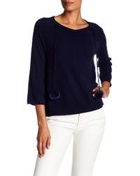 In Cashmere - Tassel Cashmere Sweater - Lyst