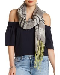 Michael Stars - Lines In The Sand Scarf - Lyst