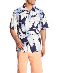 Tommy Bahama - Cascara Fronds Short Sleeve Original Fit Silk Shirt - Lyst