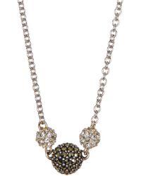 Judith Jack - Sterling Silver Mini Motives Reversible Station Necklace - Lyst