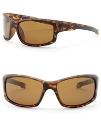 Cole Haan - 62mm Wrap Sunglasses - Lyst