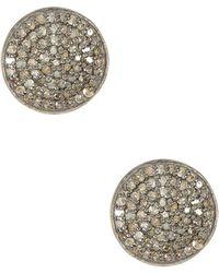 Adornia - Imogen Champagne Diamond Earrings - 1.00 Ctw - Lyst