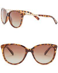 Steve Madden - Women's Polarized Rounded Cat Eye Sunglasses - Lyst