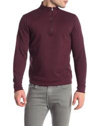 Tailor Vintage - 1/4 Zip Fleece Pullover - Lyst
